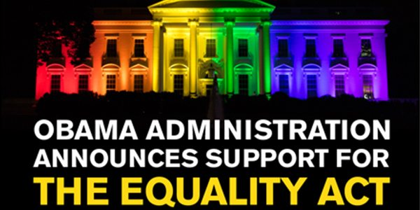President Obama Announces Support for Equality Act