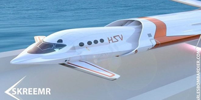 Skreemr Jet Can Travel From New York to London in 30 Minutes
