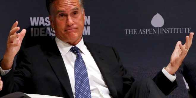 GOP Considering Drafting Mitt Romney for 2016 Election