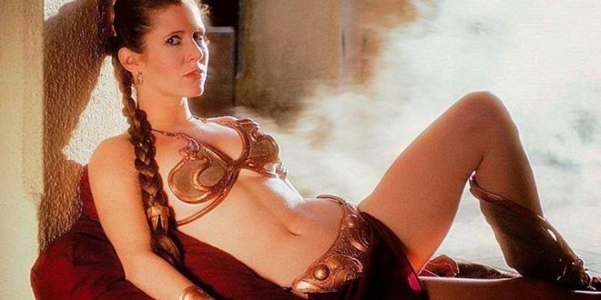 Carrie Fisher: Banning Princess Leia's Bikini Is 'Stupid'