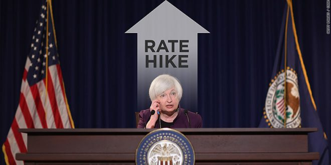 Federal Reserve System Raises Interest Rates for the 1st Time Since 2006
