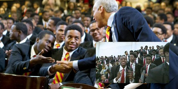 Students Disrupt Rahm Emanuel's Urban Prep Event by Chanting '16 Shots'