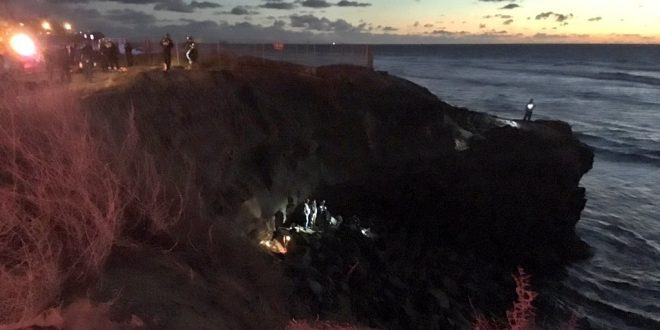 Man Distracted by Electronic Device Falls From San Diego Cliff to His Death