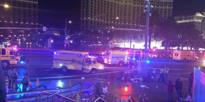 Deadly Accident Blocks Off Las Vegas Strip
