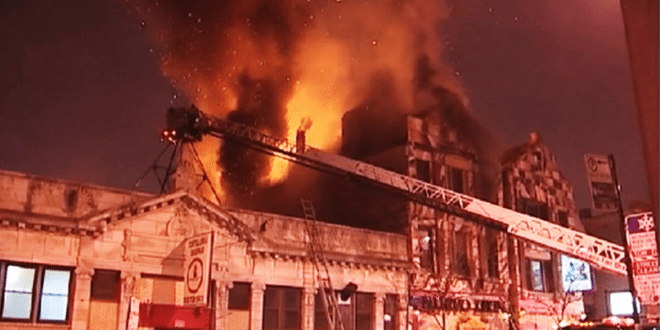 Nuevo Leon Destroyed by Fire, Leaving at Least 40 People Out Of Work