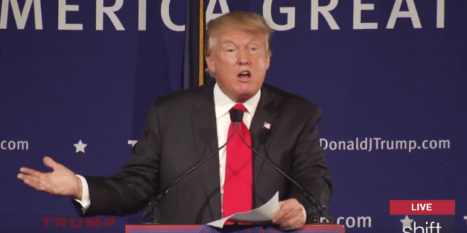 Video Donald Trump Calls to Ban All Muslims From Entering U.S.
