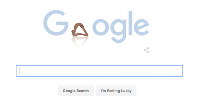 Google Doodle Honors Yoga Guru B.K.S. Iyengar's 97th Birthday