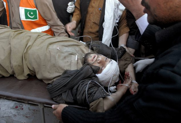 Suicide Bomber Blew Himself Up Kills At Least 26, Wounds 45 In Peshawar, Pakistan