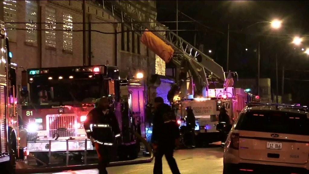 Chicago Fire Department: 15-Year Veteran Firefighter Dies in Warehouse Blaze