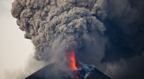 VIDEO Momotombo Volcano in Nicaragua Erupts for 1st Time in 110 Years