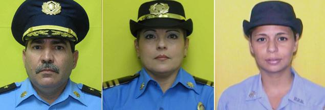 The victims from left ro right: Frank Román, 49, Luz M. Soto Segarra, 49 and Rosario Hernández de Hoyos, 42.