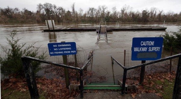 Tennessee River: Waterway Reaches Flood Stage After Heavy Rains in Northern Alabama