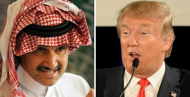 Donald Trump Calls Saudi Arabian Prince Alwaleed bin Talal 'Dopey' on Social Media