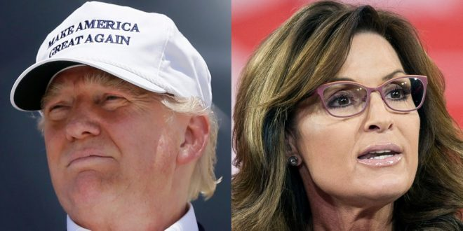 Sarah Palin Says She Supports Donald Trump's Proposed Ban on Muslims