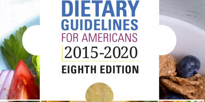 US Government Releases Updated Dietary Guidelines for Americans