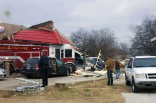Farmersville, Texas: Driver Drinking Hot Coffee Caused Fire Truck Crash into DQ