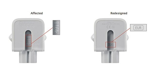 Apple Issues Global Recall For AC Power Adaptors After 'Electrical Shock Risk'