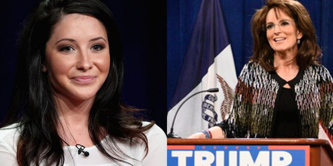 Bristol Palin Responds to Tina Fey's Impersonation of Mother Sarah Palin