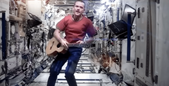 Astronaut Tim Peake Pays Perfect Tribute to Late Musician David Bowie From International Space Station