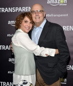 "LOS ANGELES, CA - JUNE 01:  Writer/producer Jill Soloway (L) and actor Jeffrey Tambor attends the Emmy FYC Los Angeles Screening of Amazon Original Series ""Transparent"" at Directors Guild Of America on June 1, 2015 in Los Angeles, California.  (Photo by Charley Gallay/Getty Images for Amazon Studios)"