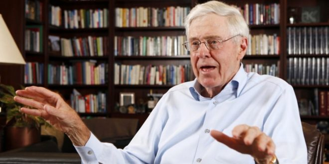 New Book 'Dark Money' Claims Father of Politically Active Koch Brothers Helped Build Nazi Oil Refinery