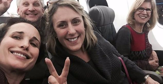 Andie McDowell Gets Swift Backlash After Complaining of Being Bumped From 1st Class
