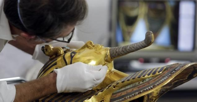 8 Face Charges After Botched Repair Job on King Tutankhamun Burial Mask