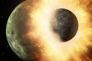 Earth's Head-On Collision With Forming Planet Theia Gave Birth to Moon, Study Says