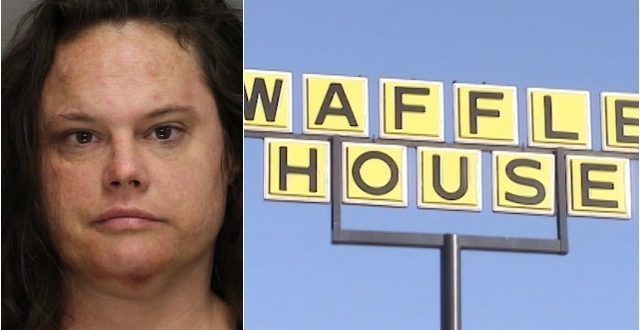 Kennesaw, Georgia: Police Charge Woman Who Removed Clothes, Attacked Customers at Waffle House