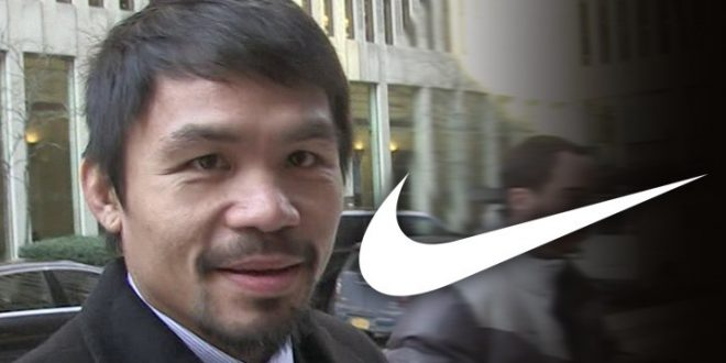 Manny Pacquiao Fired by Nike Over Anti-Gay Comments