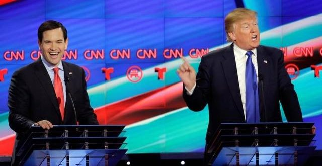 VIDEO Marco Rubio Goes After Donald Trump in Fiery GOP Debate