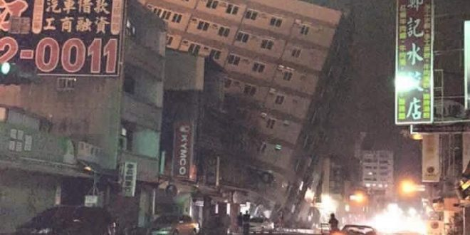 VIDEO Magnitude 6.4 Earthquake Hits Taiwan, Multiple Buildings Collapse