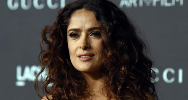 Salma Hayek Mourns Death of Her Dog, Who Was Killed