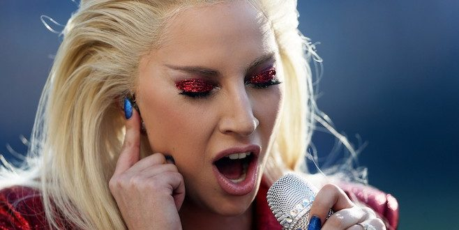 VIDEO Lady Gaga Sings National Anthem at Super Bowl 50