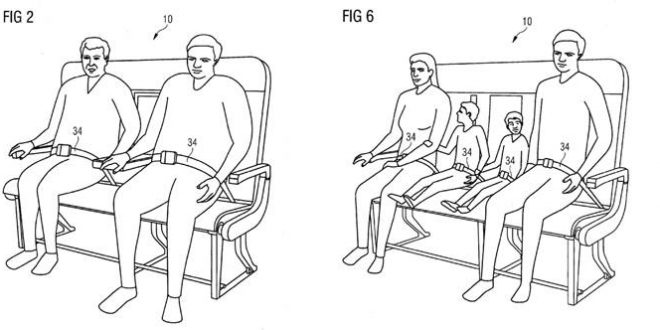 Airbus Designs Bench-Style Seating for Overweight Passengers