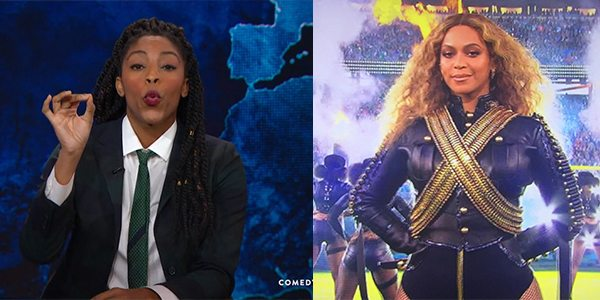 VIDEO Daily Show's Jessica Williams Puts Beyonce #Formation Haters On Blast