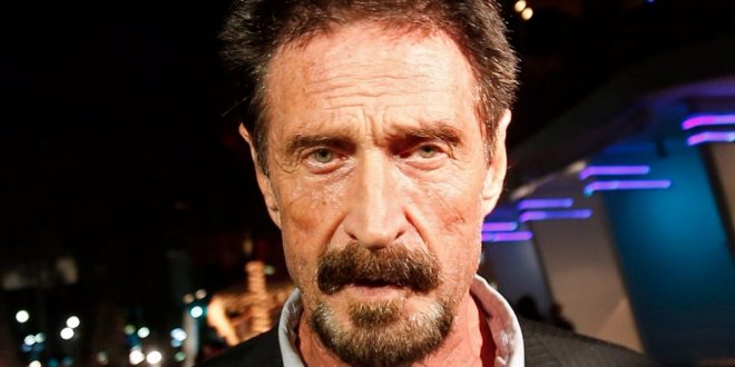 John McAfee Offers to Unlock San Bernardino Killer's iPhone for FBI 'Free of Charge'