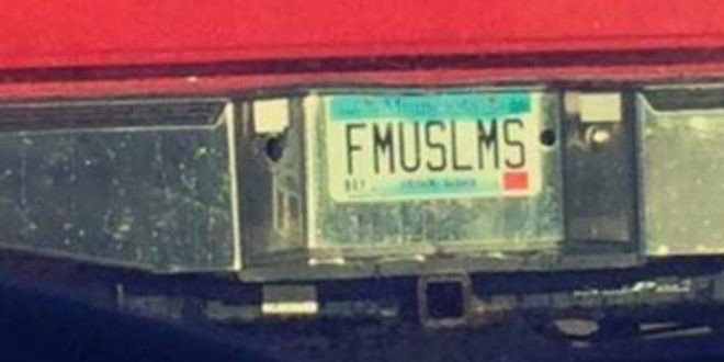 Minnesota Apologizes for Issuing 'FMUSLMS' Custom License Plate