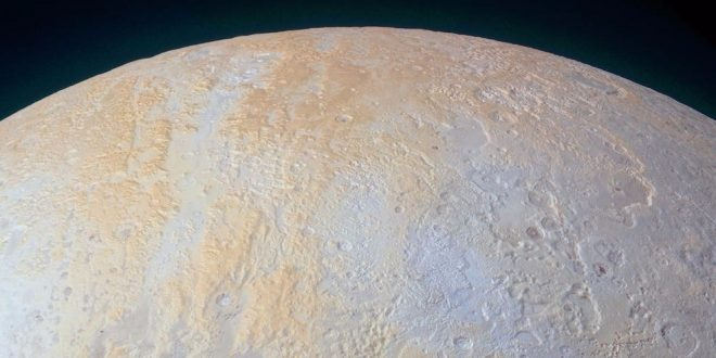 NASA Releases Photo Showing Pluto's North Pole Region