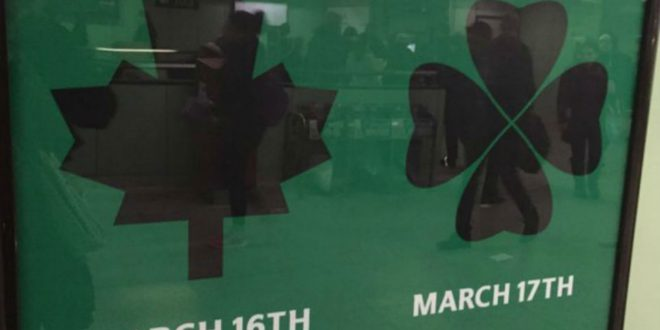 Can You Spot The Obvious Problem With This St Patrick's Day Guinness Poster?