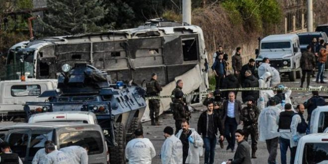 Car Bomb Kills Seven Police Officers in Diyarbakir, Turkey