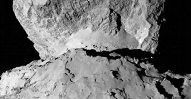 Probe Discovers Ice as Old as Solar System in Rosetta's Comet