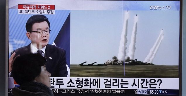 North Korea Fires 2 Missiles, Announces Seizure of South Korean Assets