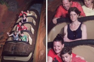 'Angry Splash Mountain Lady' Creates Own Twitter Page After Hilarious Picture of Her Goes Viral