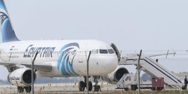 EgyptAir Hijacker Being Held In Cyprus