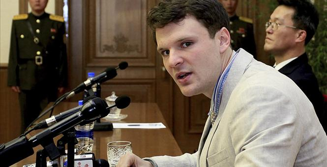 US Student Otto Warmer Sentenced to 15 Years of Hard Labor in North Korea