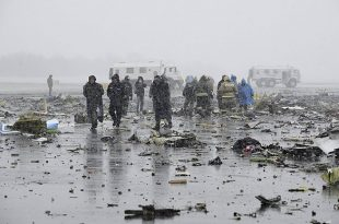 62 Dead After Dubai Airliner Crashes in Southern Russia
