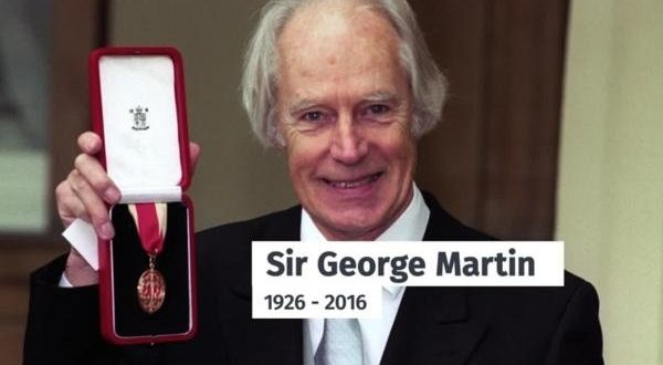The 'Fifth Beatle,' Sir George Martin, Dies At 90