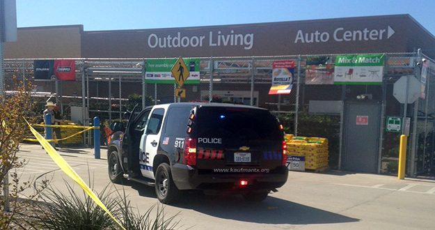 Gunman Walks Into Kaufman, Texas Wal-Mart, Kills Neighbor Working There, Then Shoots Himself