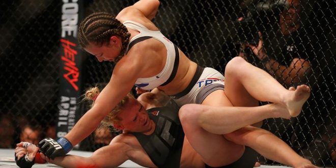 VIDEO Miesha Tate Defeats Holly Holm for UFC Women's Championship